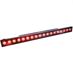 ADJ - Mega TRI Bar-B-Ware - 1 Meter LED Bar, 18x 3 Watt, 3-in-1 TRI Color LED
