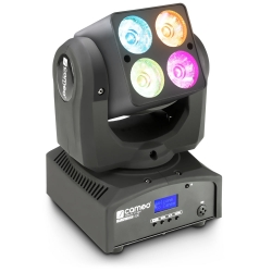 Cameo - NanoWash 400, 4 x 10 W CREE RGBW LED Mini Wash Moving Head